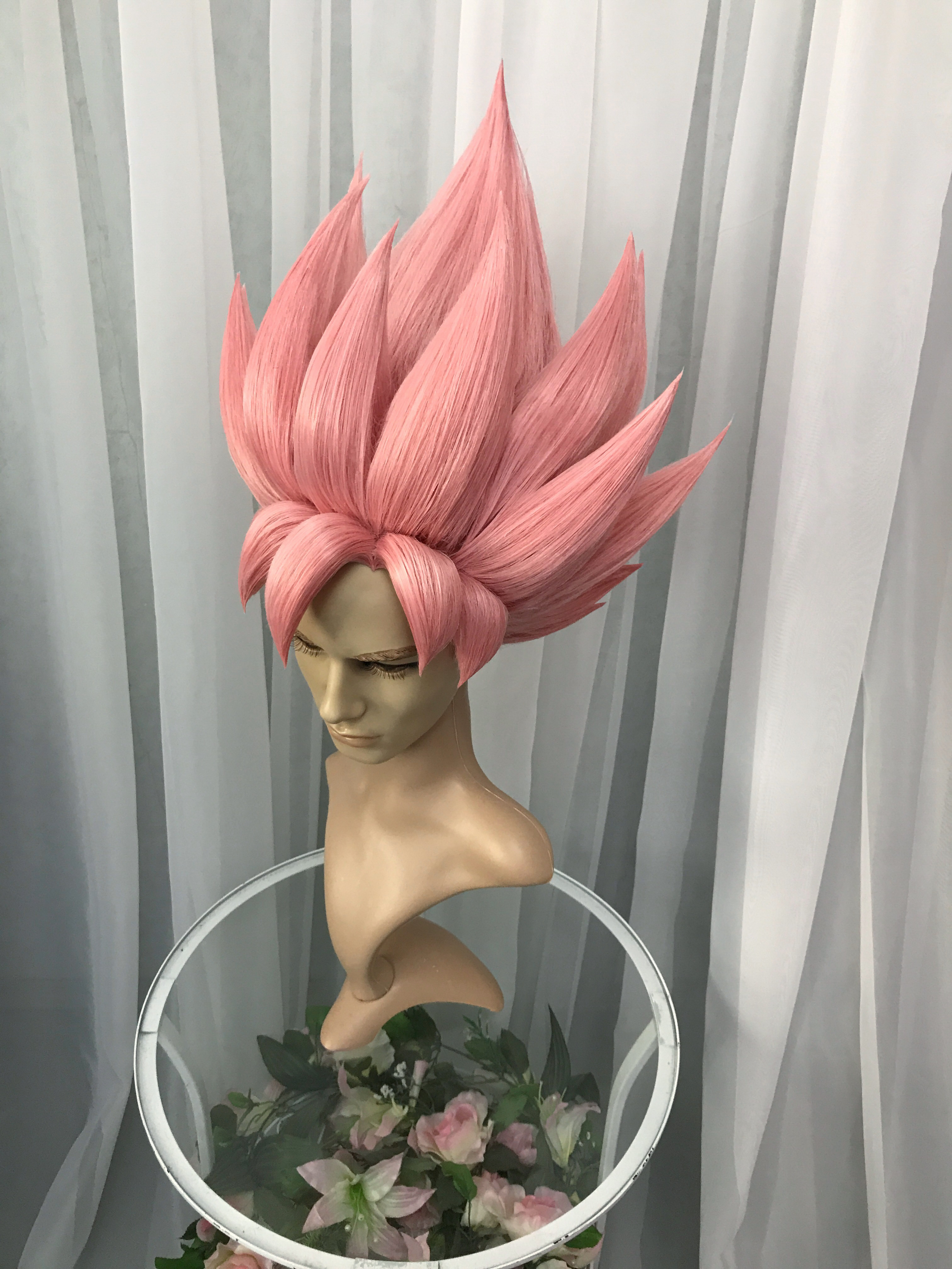 Super Saiyan Rose Goku Wig Wisperia Workshop